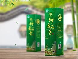 杏花村汾酒竹叶青包装设计
