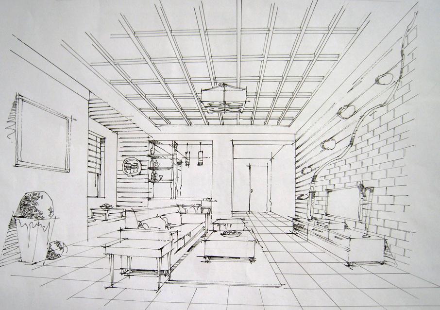 室内手绘|插画|其他插画|ssunlihu - 原创作品 - 站酷图片