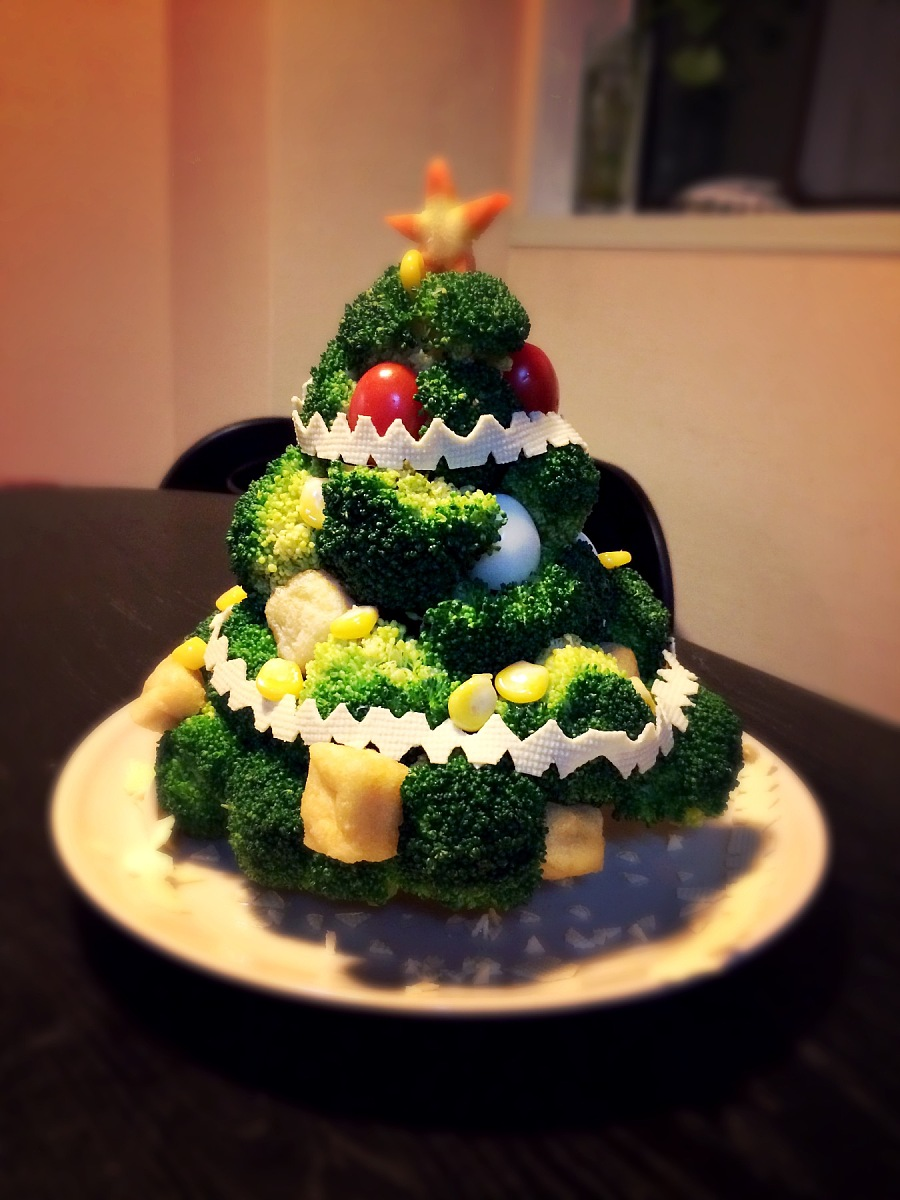 蔬菜圣诞树 其他手工 手工艺 cateyelei - 原创设计
