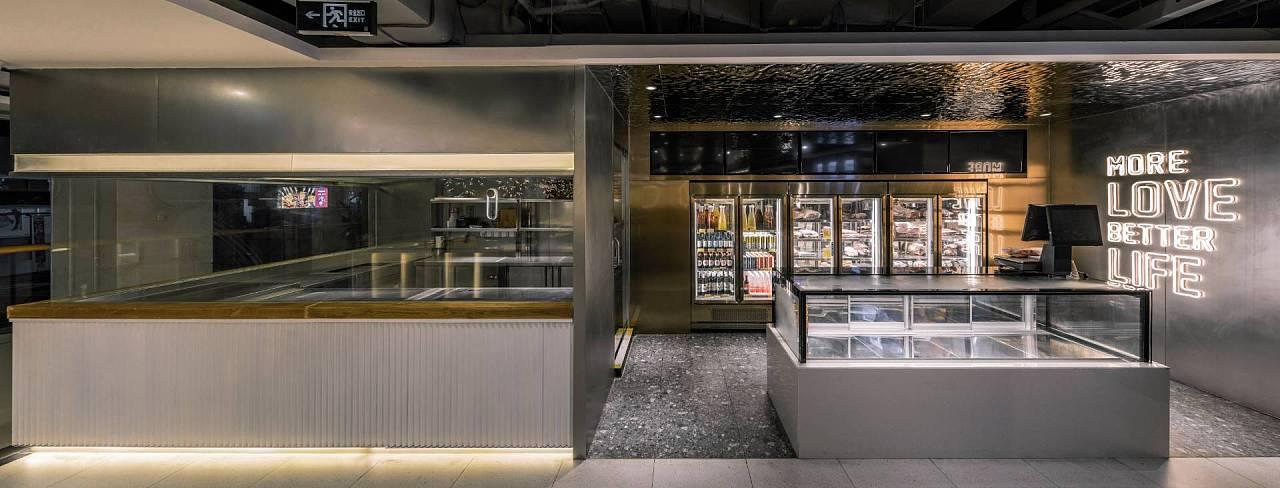 烧烤店(韩式) · 餐饮空间设计_权金城 国瑞店