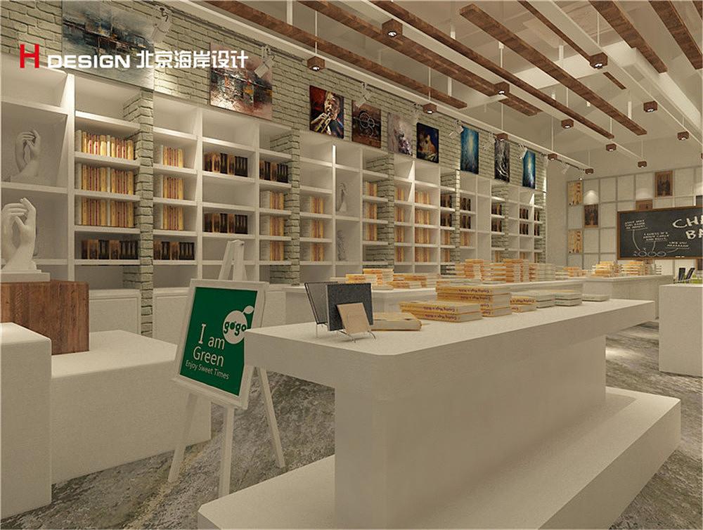 单向空间书店设计案例图片