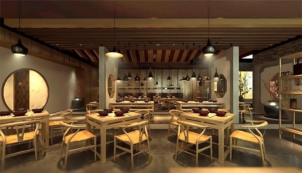 中式方法空间设计--敕勒川|空间|展示设计|Dou下载数独的基本操作餐饮图片