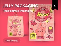手绘果冻包装设计【实验品】