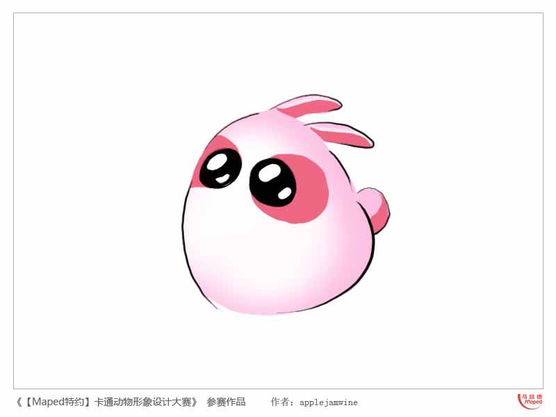 动物logo兔