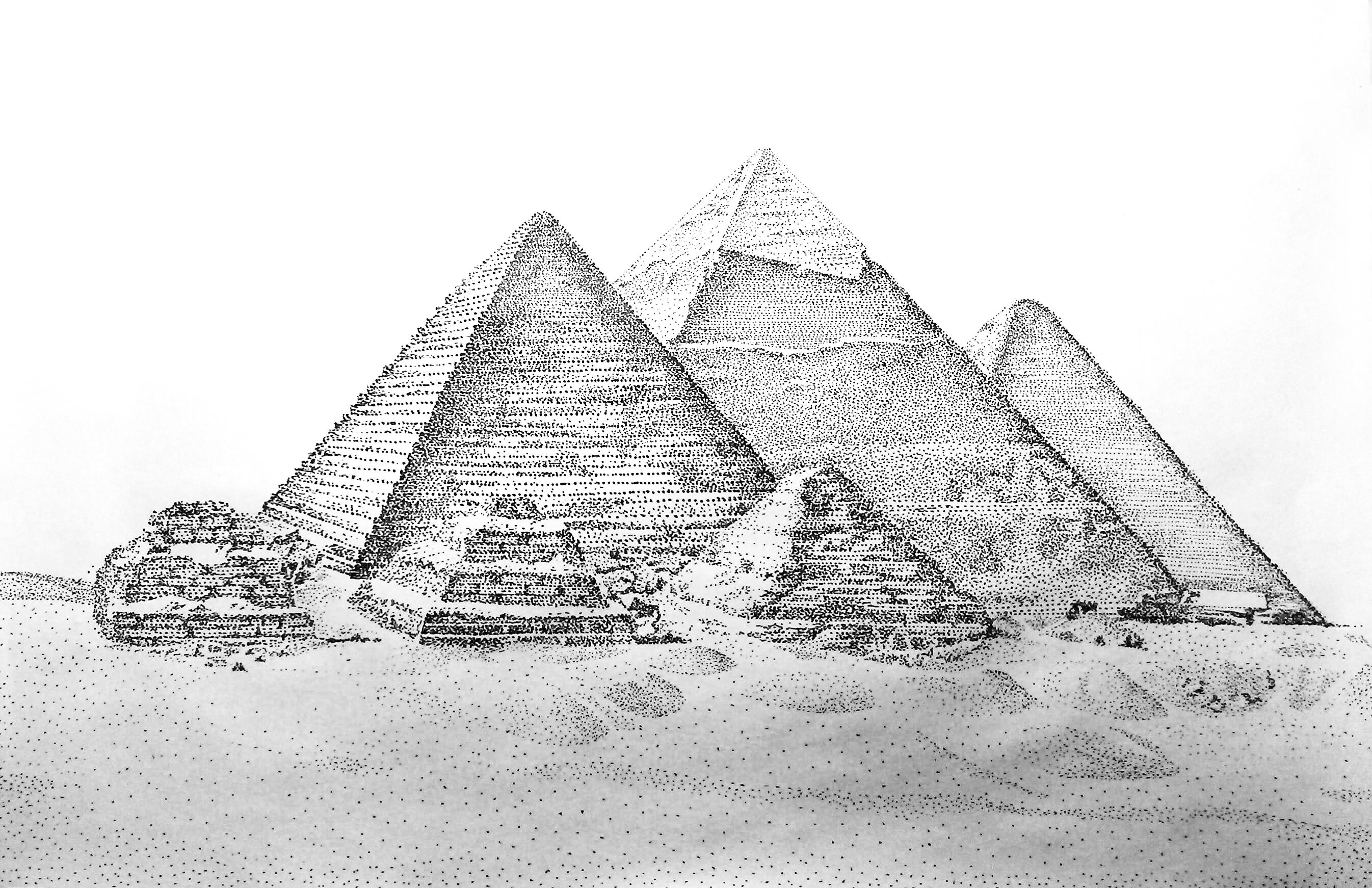 点绘·金字塔