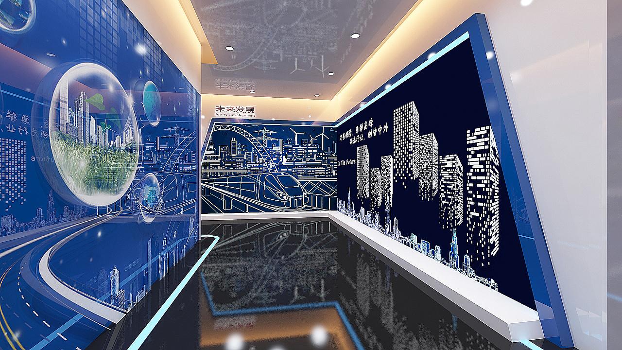 企业展厅图片
