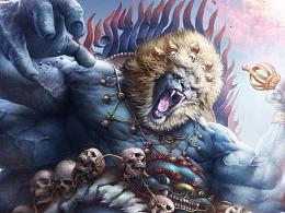 七大圣——《移山大圣》狮驼王