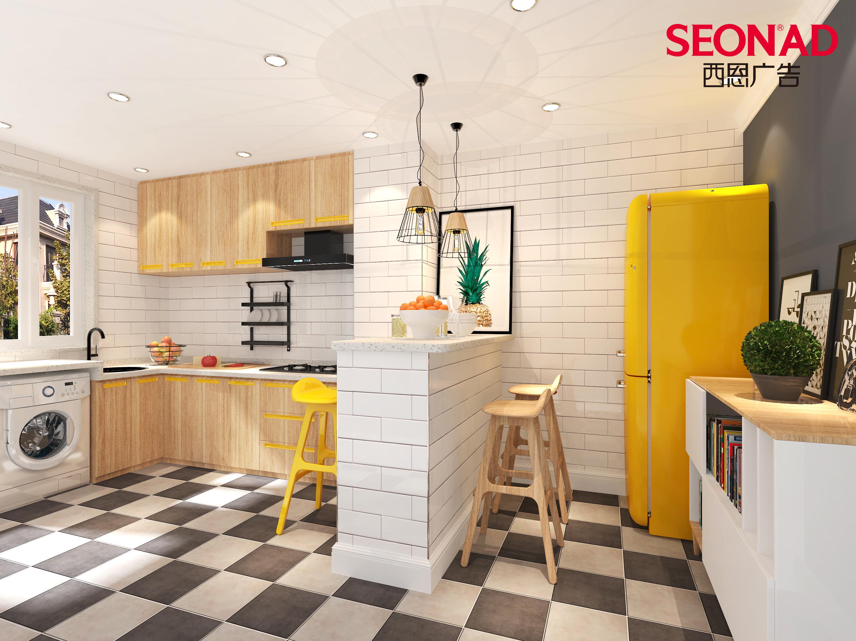 小风格家居空间设计篇①北欧户型|表格|室内设计|西恩绘制空间后无法v风格图片