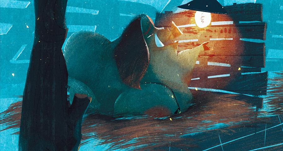 查看《百词斩阅读计划-《动物庄园》封面以及插图》原图,原图尺寸:2610x1396