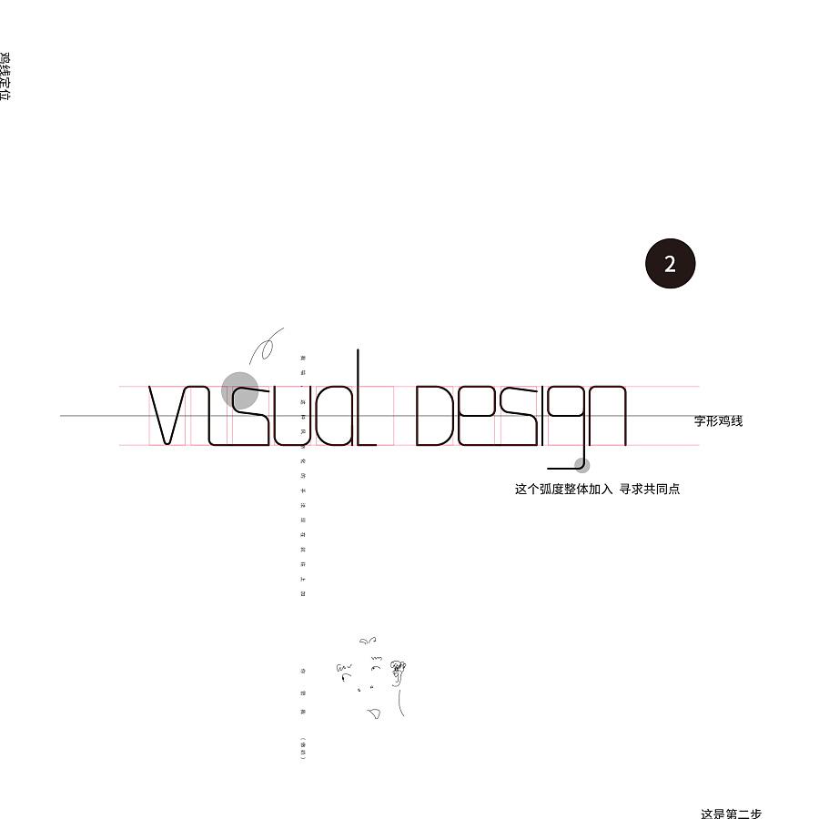 visualdesign字形YY|字体/平面|玄关|Leon_Dnn进门没有字体怎么办设计图