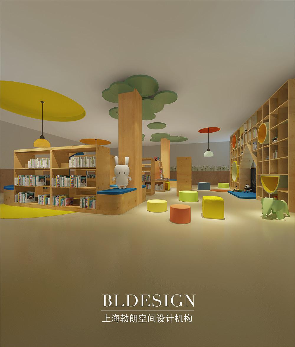 驻马店幼儿园设计-雨露阳光幼儿园设计案例效果图湖南方圆建筑设计一所图片