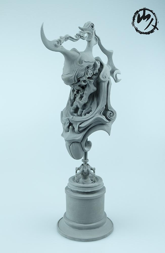 查看《《怒颚摩罗》》原图,原图尺寸:653x1000