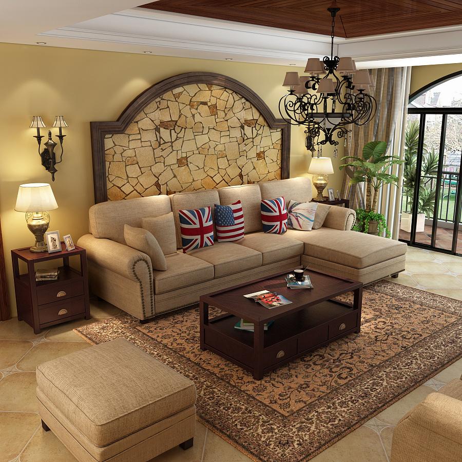 原创作品:美式沙发,美式家具, 家具3d设计图片