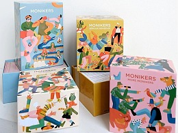 著名游戏品牌Monikers X Cecile Gariepy 包装设计