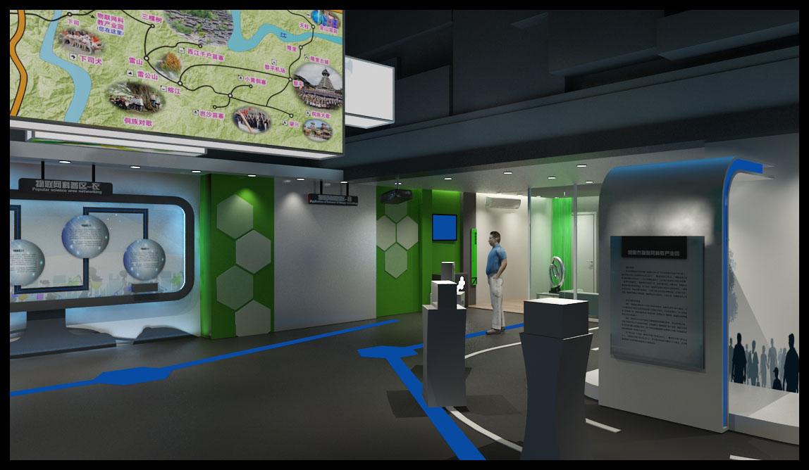 [浙江] 物联网智慧城市展厅体验馆设计方案(设计逻辑清晰),图片尺寸图片