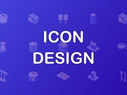 音乐、厨房用具类icon设计