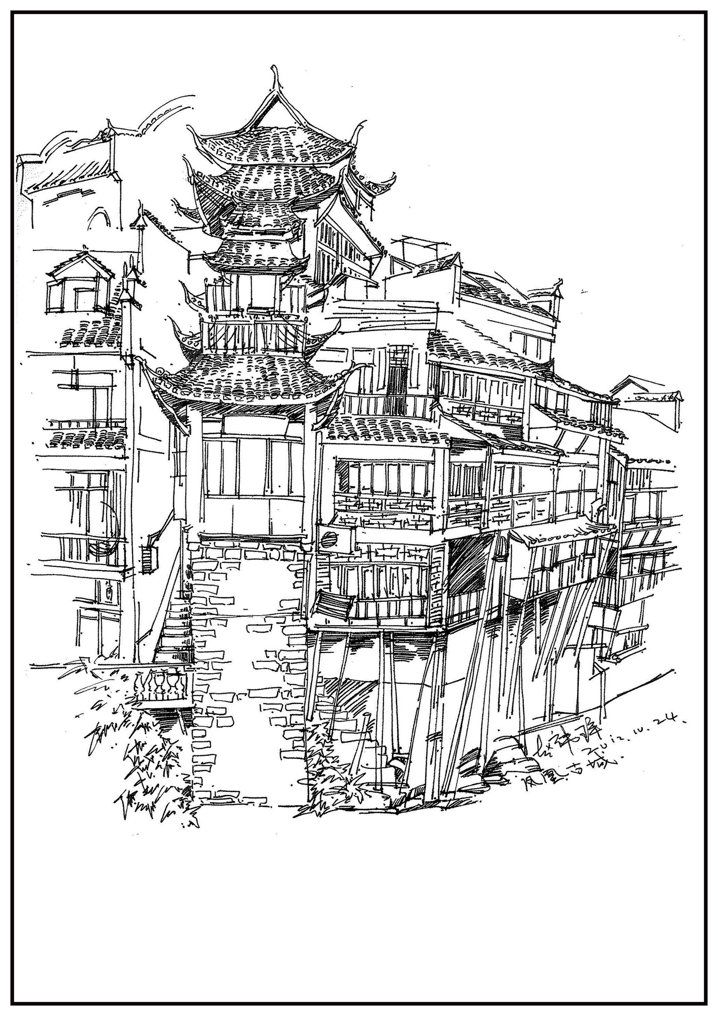 简笔画 手绘 线稿 2480_3508 竖版 竖屏图片