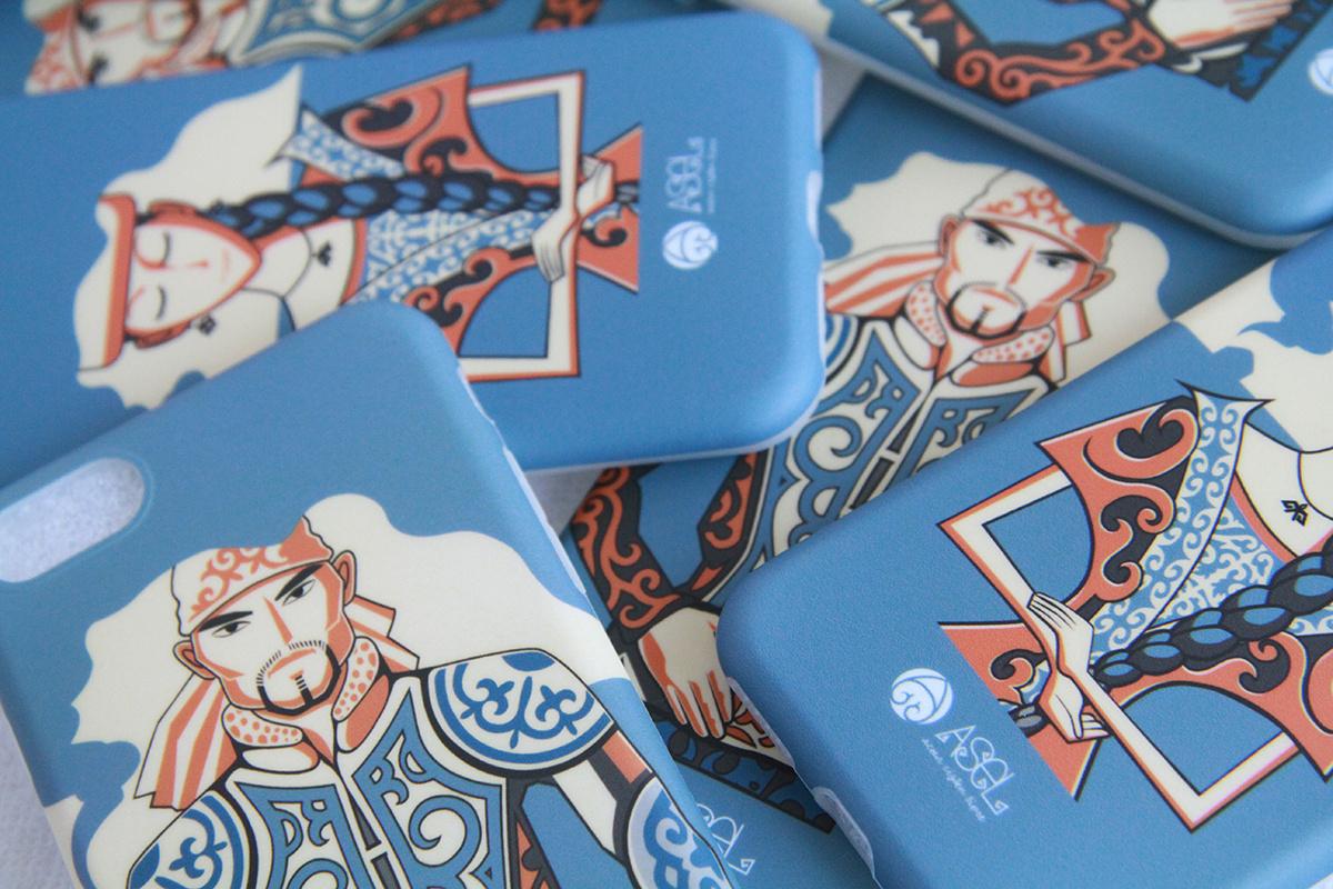 哈萨克风格 手机壳
