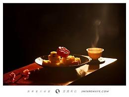 美食摄影【茶饼年礼套装】--食摄马也