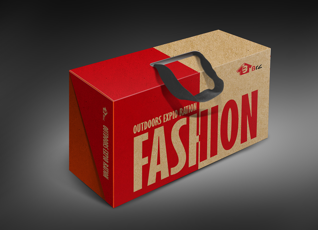 鞋盒包装设计图片