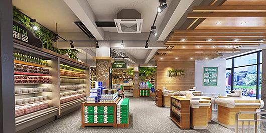 农贸市场设计丨改造设计丨室内设计丨装修设计— 一鸿市场研究中心图片