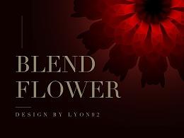 一花一世界/Blend Flower