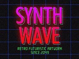 合 成 器 波 · synthwave ·