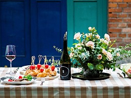 一场美食、美酒的聚会