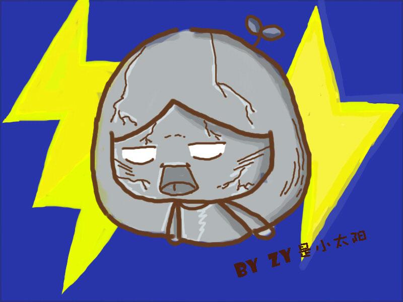 查看《原创生活小漫画童话可爱简单插图表情》原图