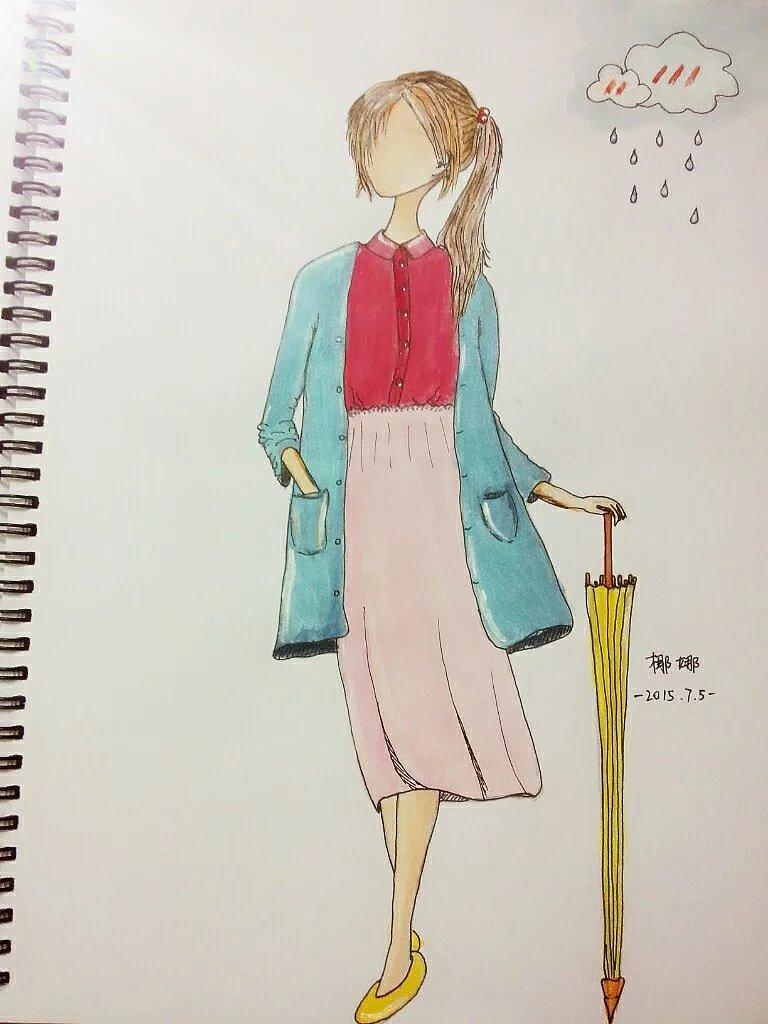 原创手绘 插画 插画习作 椰娜 - 原创作品 - 站酷