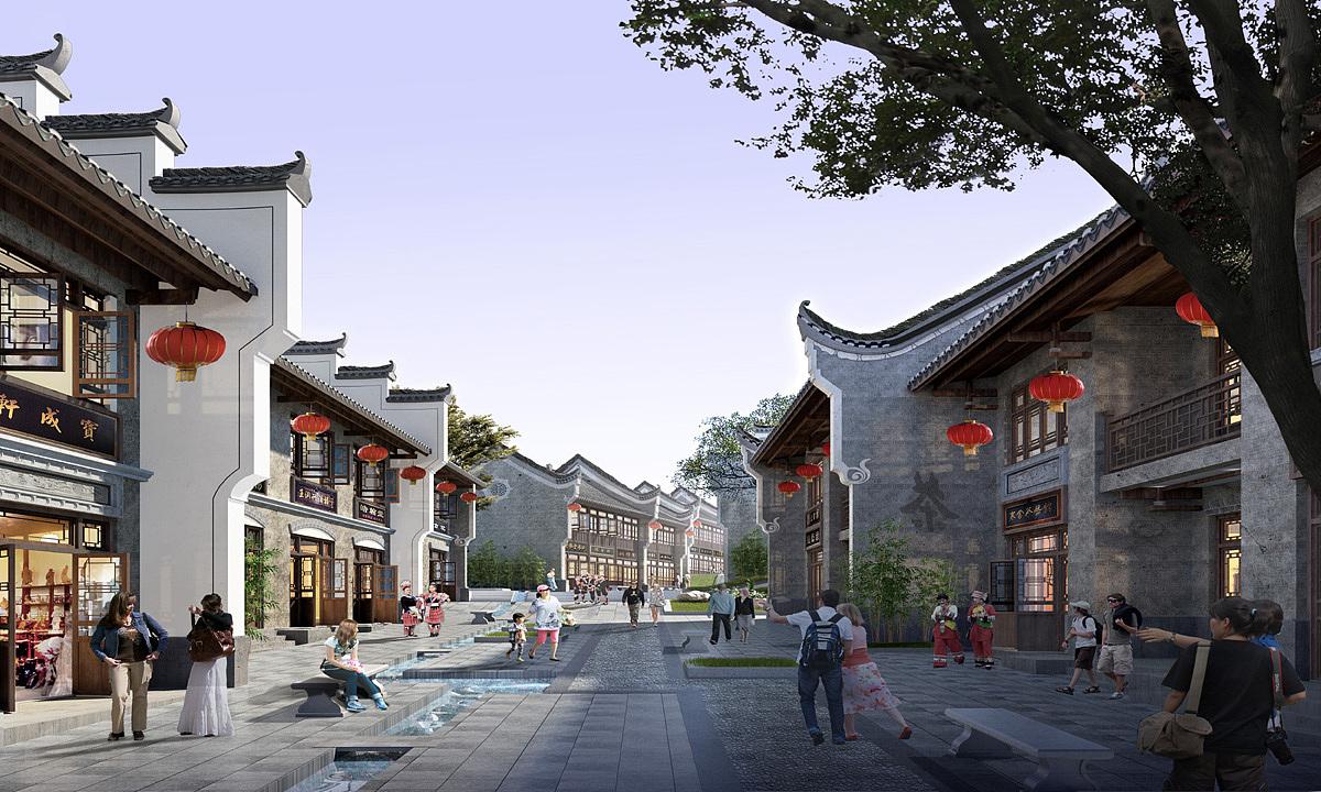 成都道合规划研究院专注:成都古建筑景区设计,古建筑寺院保护,专业化ps设计的水资源海报设计图片