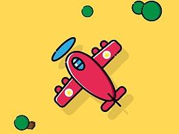 飞机小动画