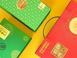 郭牌西瓜X蜜瓜包装设计 农产品设计