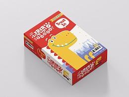 「小恐恐」零食形象与包装