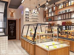 烘焙店设计|北京顺义_尚品喜达烘焙店设计