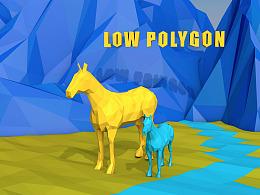 low polycon-C4D