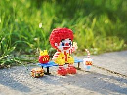 MARD拼豆原创-麦当劳叔叔