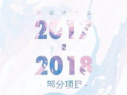 2017-2018部分项目