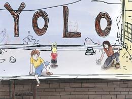 《YOLO》漫画节选