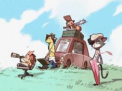 系列爆笑动画片《0号宿舍》来了!!