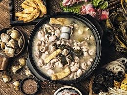 大肠咸菜火锅
