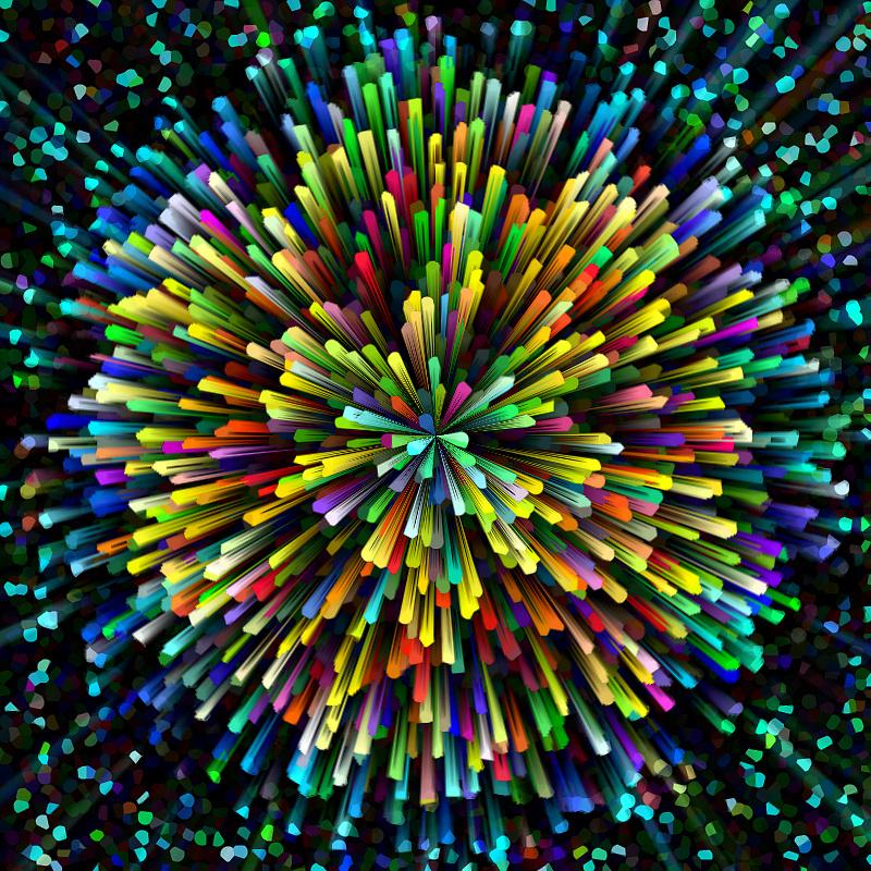 彩纸手工制作烟花