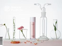 BIXUAN 化妆品拍摄 粉色系列