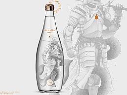 ArmorMan天然矿泉水/饮料包装设计