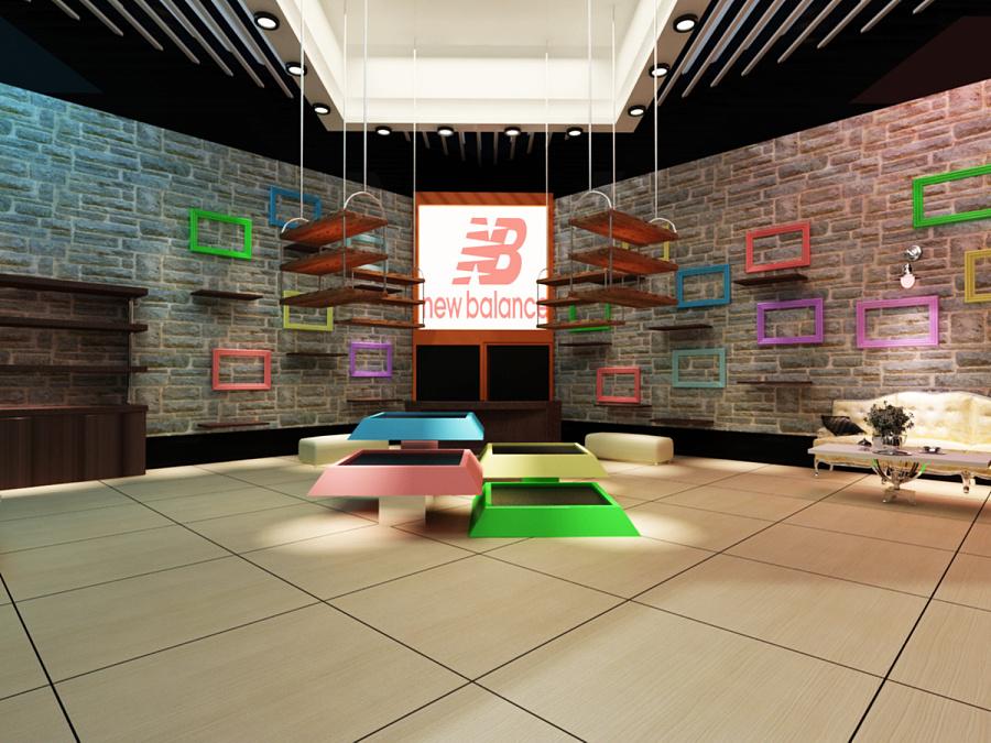 新百伦展示空间设计图片