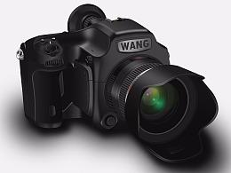 原创拟物单反摄像机