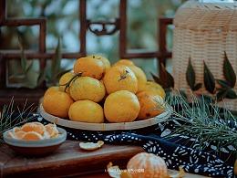国风静物摄影  橘子