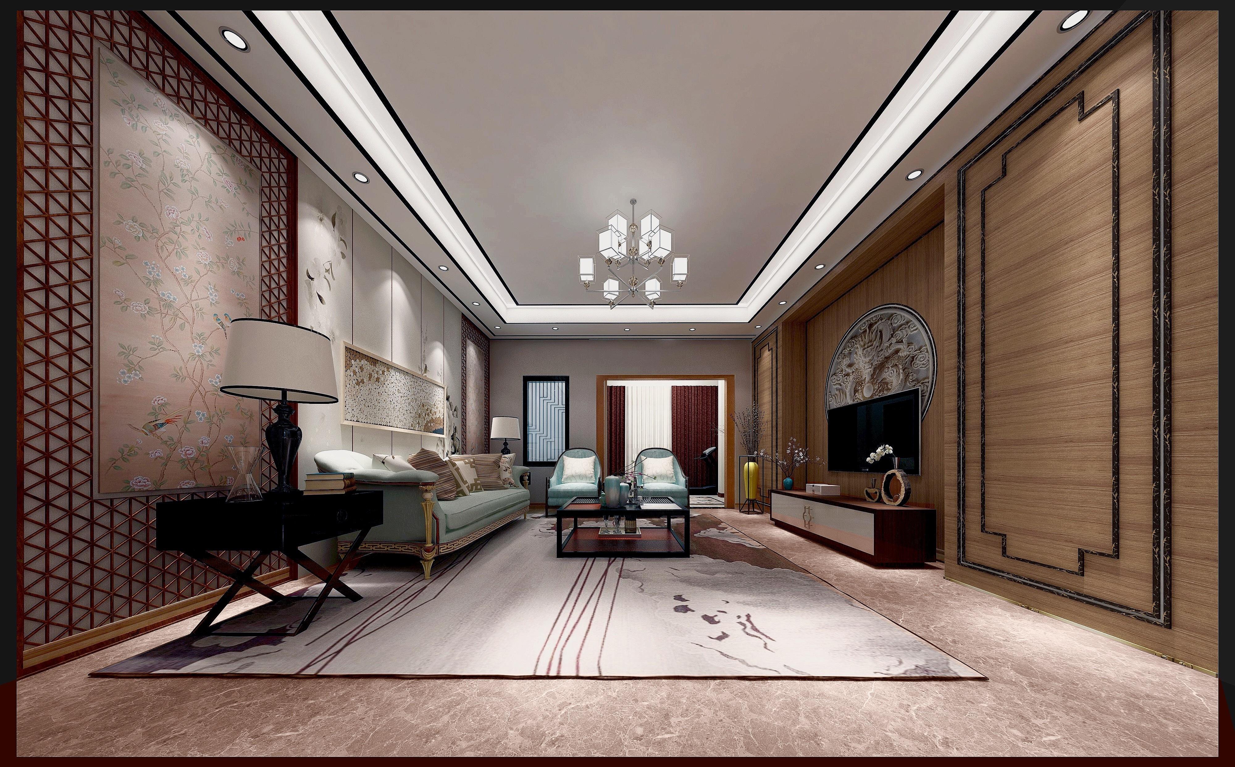 新中式设计|空间|室内设计|好闲萝卜 - 原创作品