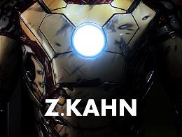 钢铁侠3-1/1比例MK42雕像。