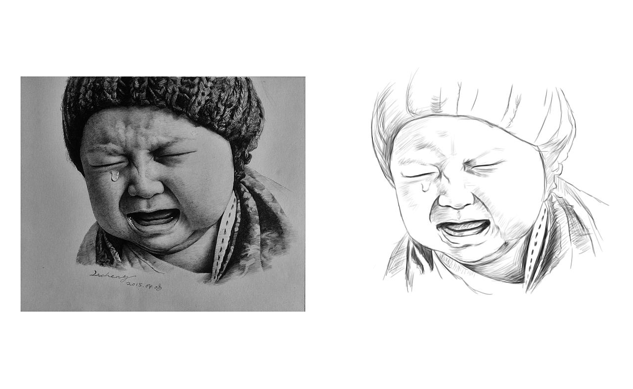 ps手绘搞|插画|插画习作|山字峻丶 - 原创作品 - 站酷